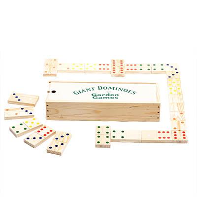 Giant Dominoes Giant Wooden Dominoes Garden Games Ltd
