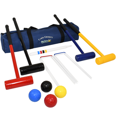 Lawn 4 Player Croquet Set